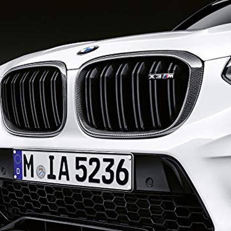 BMW純正部品 M PERFORMANCE F97 X3M 用カーボン キドニー グリル G01 X3 装着可