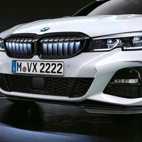 BMW純正部品 Iconic Glow フロントグリル for G20 G21 3シリーズ US仕様スイッチ付