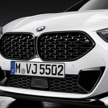 BMW純正部品 M PERFORMANCE F44 2シリーズ グランクーペ 用ブラックキドニー グリル