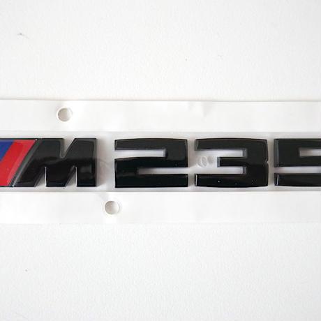 BMW純正 F44 2シリーズ M235i用ブラック モデルレター エンブレム Black Painting Letterings.