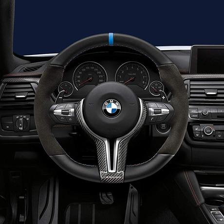 (正規輸入品)BMW M Performance スポーツステアリングホイール II プロステアリング カーボンステアリングカバー別売