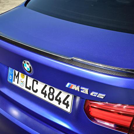 BMW純正 M sports manufacture F80 M3 CSモデル用カーボンリアスポイラー