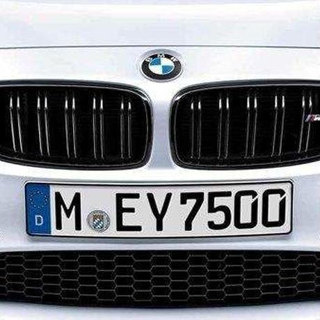 (限定)BMW純正M PERFORMANCEパーツ F80M3用ブラック キドニー サイド グリル セット