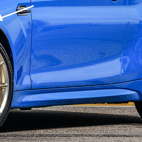 BMW純正部品 F87M2 コンペ・CS用ホイールハウスエクステンション