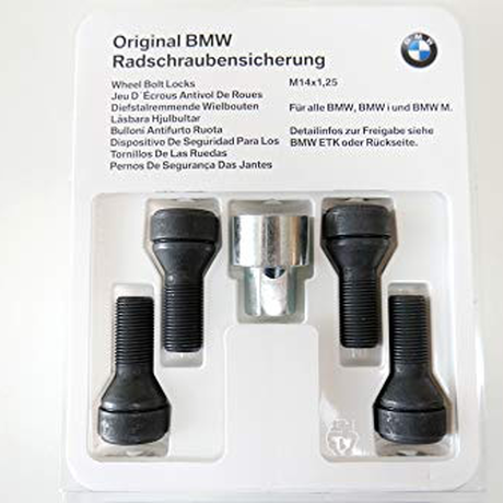 BMW純正部品 ホイール ボルト ロック セット ニューモデル 最新品番 36132453961 全Fシリーズ 全Gシリーズ 盗難防止