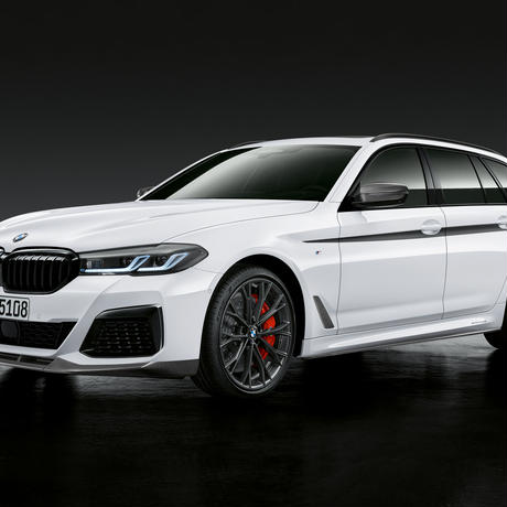 BMW純正部品 G30 G31 LCI 5シリーズ用Individualハイグロスブラックグリル
