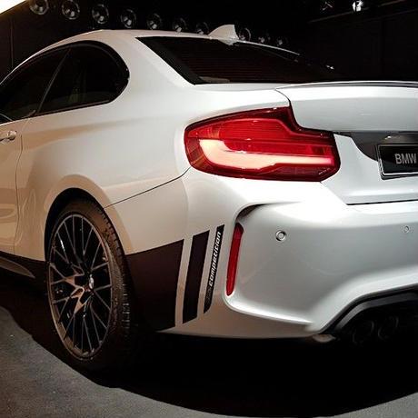 BMW  F87 M2 用 コンペティション デザイン デカール セット
