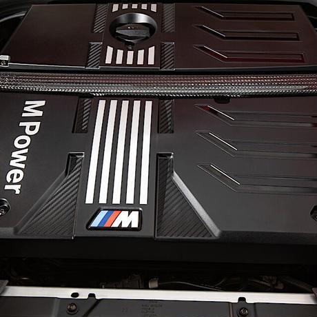 BMW純正部品 F97 X3M F98 X4M用M カーボン ストラットタワーバー