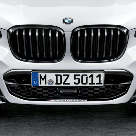 BMW純正部品 M PERFORMANCE G01 X3 G02 X4 用ブラックキドニー グリル  左右1セット