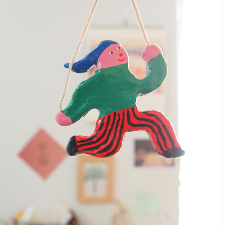 Lovely Clay Character Magnets 4