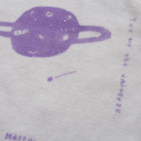 Love Planet / Silk-screen Towel & Handkerchief