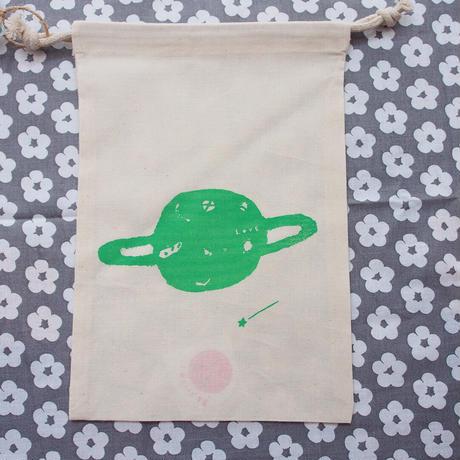 Love Planet / Silkscreen Small Pouch