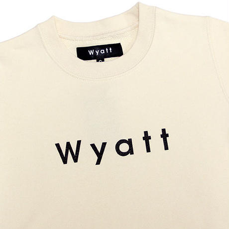 【WYATT / ワイアット】BASIC LOGO SWEAT