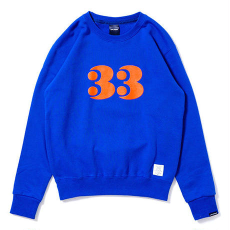 """【 APPLEBUM / アップルバム 】 KID'S """"33"""" CREW SWEAT"""