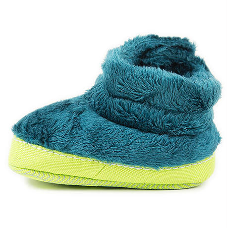 【THE NORTH FACE / ノースフェイス キッズ】B & G NSE Infant Fleece Bootie /DL(グリーン )/LW(パープル)