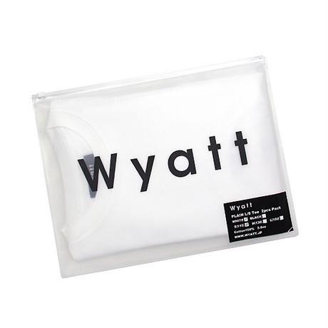 "【WYATT / ワイアット】""2pcs Pack"" PLAIN L/S TEE"