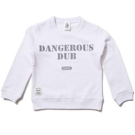 【NINE RULAZ / ナインルーラーズ 】 Dangerous Dub KIDS Crew Neck Sweat