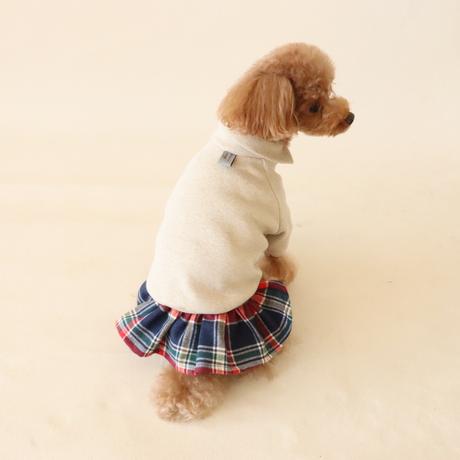 Cross neck knit(オートミール)