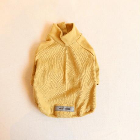 バンダナ付きCenter Cross Knit(Mustard)