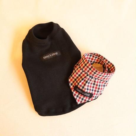 バンダナ付き Knit(ブラック)