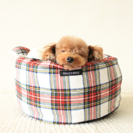 INUTUBO☆WARM CHECK BED