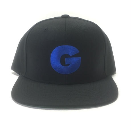 "Nuthin' But A ''G"" Thang Snapback Cap (Black x Blue)"