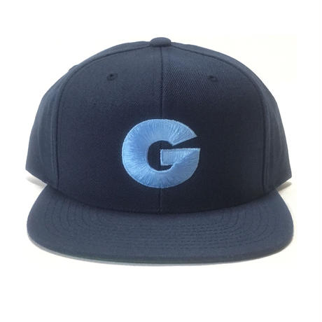 "Nuthin' But A ""G"" Thang Snapback Cap (Navy x Uni Blue)"