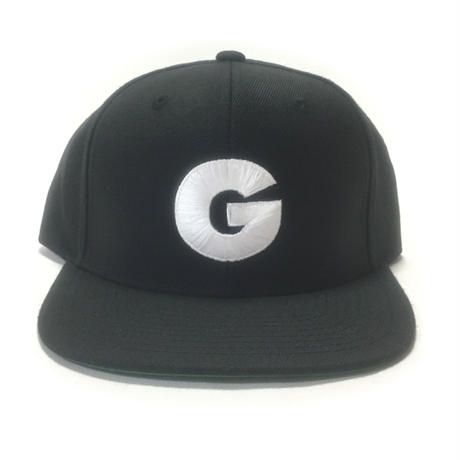 "Nuthin' But A ''G"" Thang Snapback Cap (Black x White)"