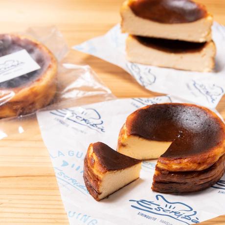 ※5月20日発送※[4箱セット]バスクチーズケーキ2個とコーヒー3パック ギフトセット