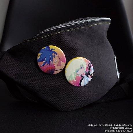 プロメア 缶バッジセット ガロ&リオ