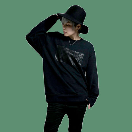 【Spring】(特別color)Thanks Barcode Crew neck