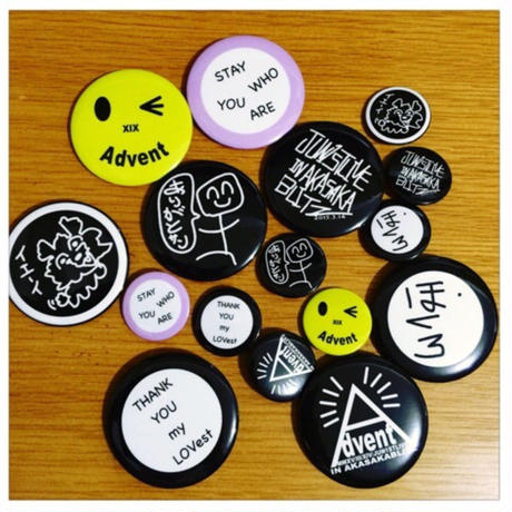 ほくろ(Metal badges)