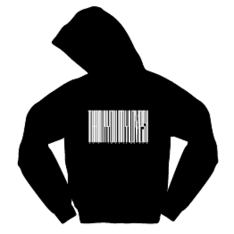 Thanks Barcode Hoodie