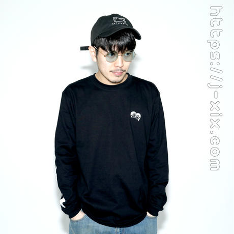 「Re:Play 」long sleeve t shirt  ブラック