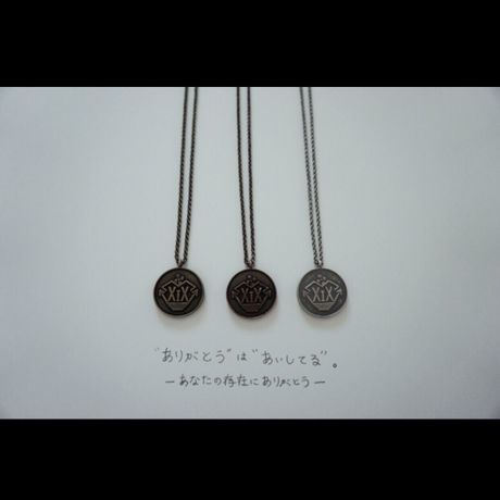 【Band】reversible antique coin necklace