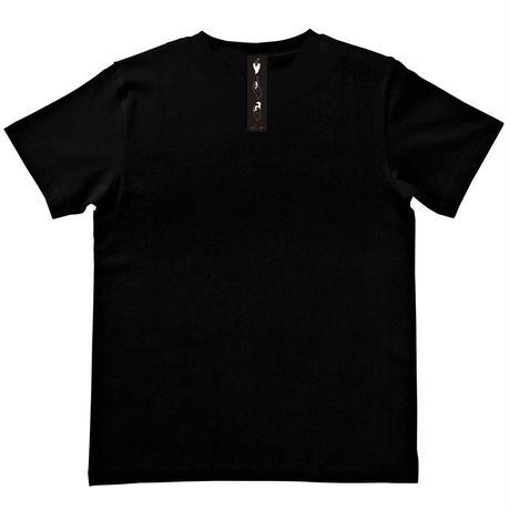 S.T.H Tee〈Black〉-非売品ステッカー付き-