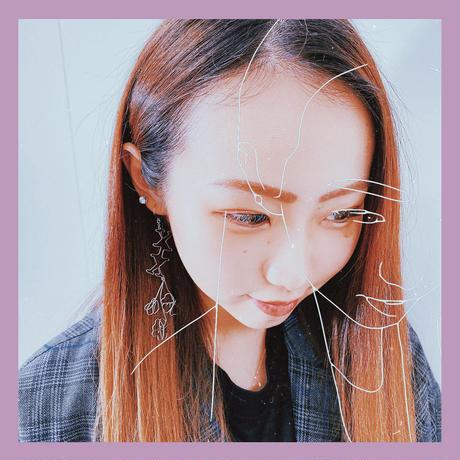 (片耳用) 桜【hand-made】ピアス/イヤリング