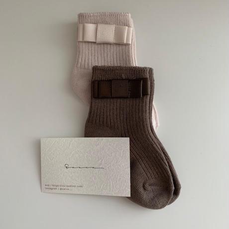 ribbon socks