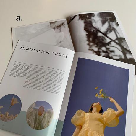 interior booklet