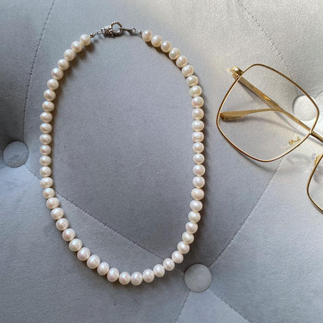 PEARL necklace(8mm / 淡水パール)