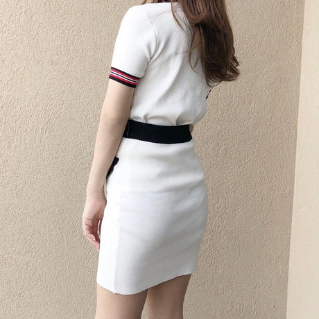 【即納】mademoiselle set up / white