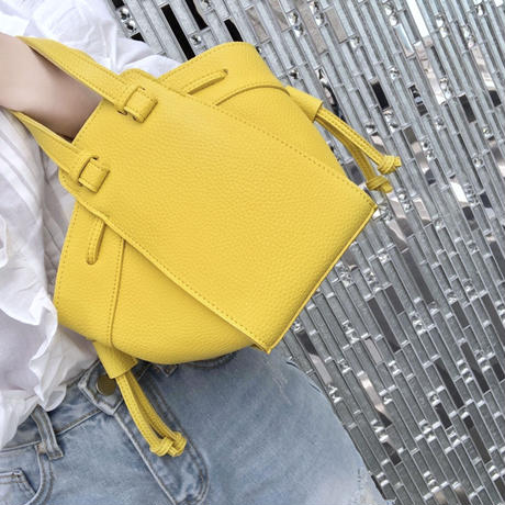 mini mock bag / yellow