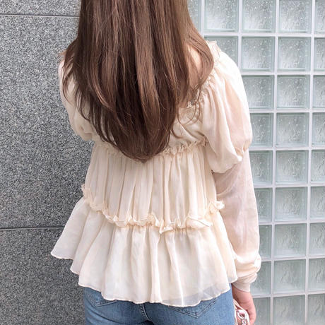 【即納】off shoulder lily BL