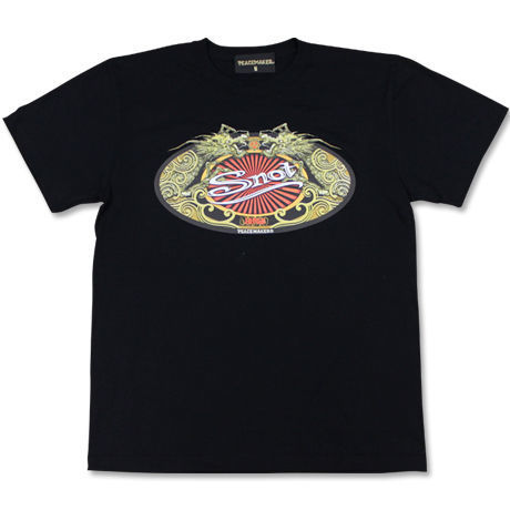 Snot × PEACEMAKER  /  W-NAME   T-SHIRTS   (front : dragon)