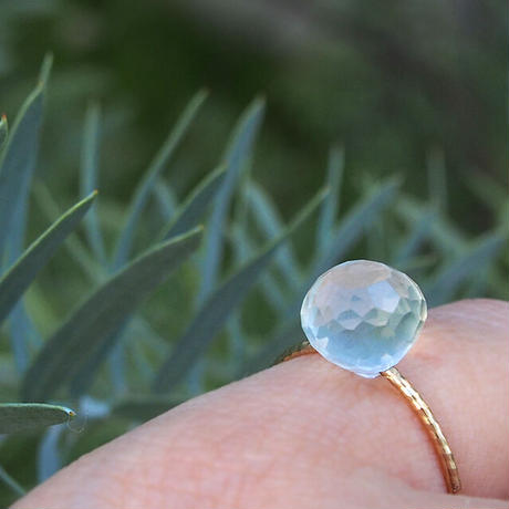 K10 candy ring  -  moon stone -