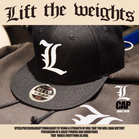 ''Lift the weights''OTTO CAP