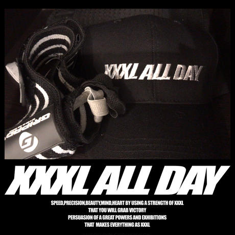 ''XXXL ALL DAY''メジャーCAP