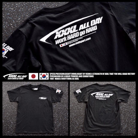 ''XXXL ALL DAY''JAPAN×KOREA Tシャツ