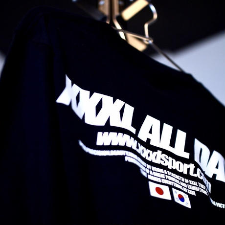 ''XXXL ALL DAY''JAPAN×KOREA ロングTシャツ