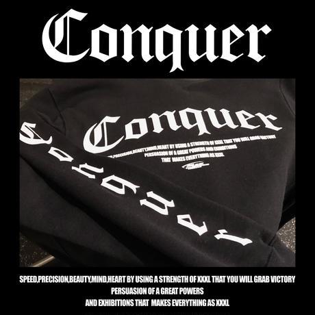 ''Conquer ''プルオーバーパーカー